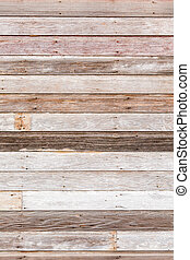 Siding - Weathered wood siding of old barn