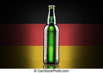 Oktoberfest Cold Beer - Oktoberfest ,Cold Beer with grunge...