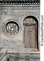 Door and window - traditional chinese door and window