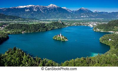 Lake Bled Slovenia - lake bled slovenia