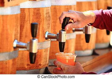 root beer kegs - root beer on tap