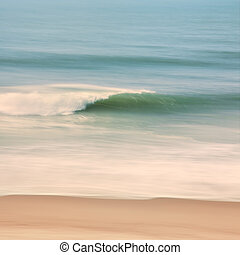 Wind Wave - An ocean seascape with blurred panning motion....
