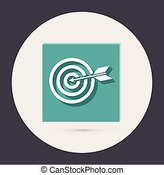 target - target sign