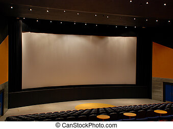 filme,  cinema, teatro, cortinas