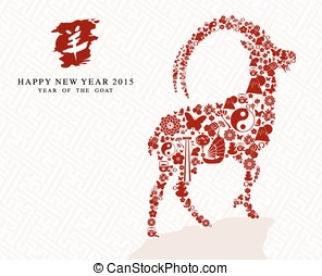 Happy Chinese new year of the Goat 2015 - Chinese New Year...