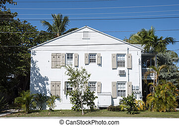 Traditional house in Key West, Florida, USA