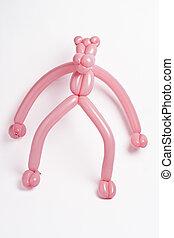 pink balloon panther