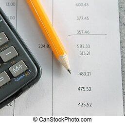 finance bank statement