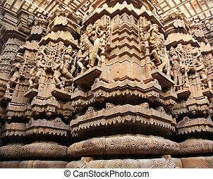 Jaisalmer, tempio,  jain,  Rajasthan