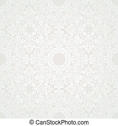 Vector seamless pattern in Victorian style. - Vector...