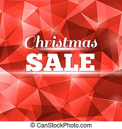 Christmas sale design template for your business event.
