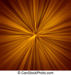 light zoom abstract background