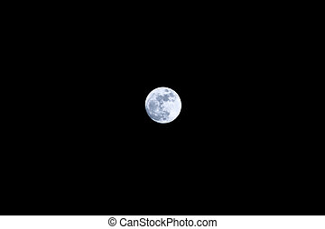 Full Moon Dark Sky