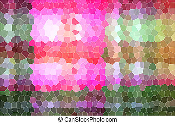 Colorful pattern of geometric background.