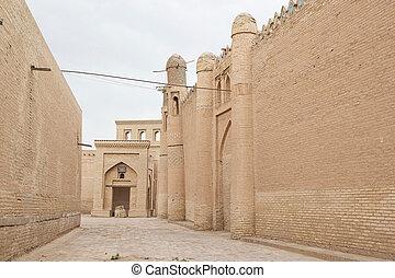 Uzbekistan - Itchan Kala, Khiva, Uzbekistan. Itchan Kala is...