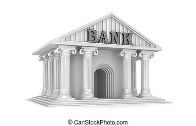 Bank classic house icon