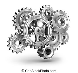 Steel gear wheels concept