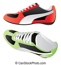 Sport shoes - Isolated image of sport shoes