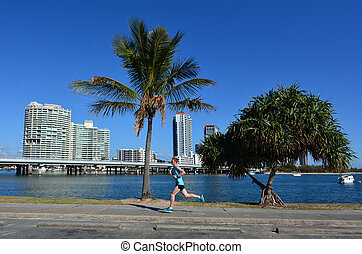 Southport Skyline - Gold Coast Queensland Australia - GOLD...
