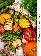 chifre, legumes