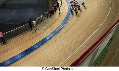 Bicycle Race  - Cycling track Pursuit competition sequence