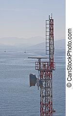 Microwave Tower on Coast