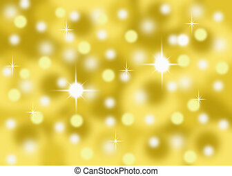 abstract gold bokeh background