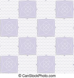 Geometrical purple ornament with texture