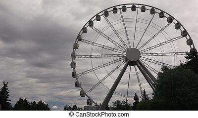 Ferris wheel. 4K. - Ferris wheel. Shot in 4K (ultra-high...