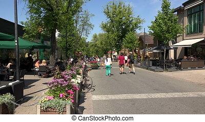 Lappeenranta City streets Finland Shot in 4K ultra-high...