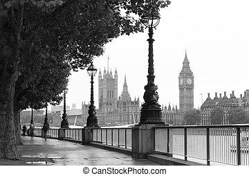 London and Big Ben - Big Ben and the Palace of Westminster...