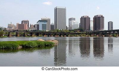 Richmond Virginia Skyline - RICHMOND, VIRGINIA, USA u2013...