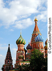 Basil's Cathedral in Moscow