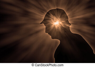 psychic pressure - young person with massive psychic...