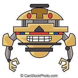 Cute Robot Design