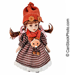 Doll - Vintage girl baby doll