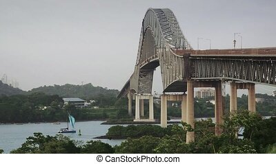 Panama City, bridge Las Americas - Tourist attractions and...