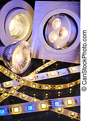 different LEDs - different current LEDs-technologies in one...