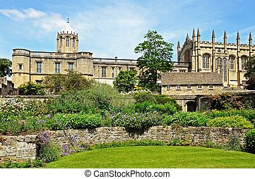 Christ Church College, Oxford. - View of Christ Church...