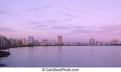 Cuba, La Habana, Havana, city view - Tourism and travel:...