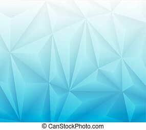 Abstract Geometrical Blue Gradient Background. Vector Design...