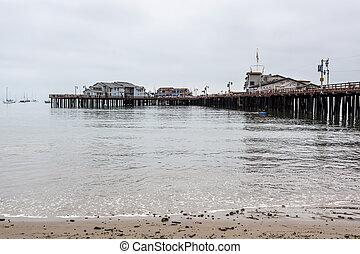 The pier in Santa Barbara California
