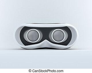 anteojos,  3D,  virtual, realidad