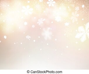 Blurred christmas background - Blurred winter background...