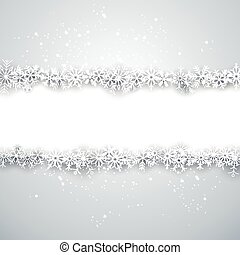 Christmas light abstract background. - Light winter abstract...