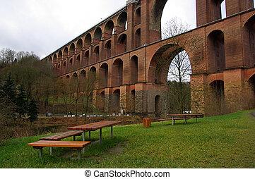 Goltzsch valley bridge 13