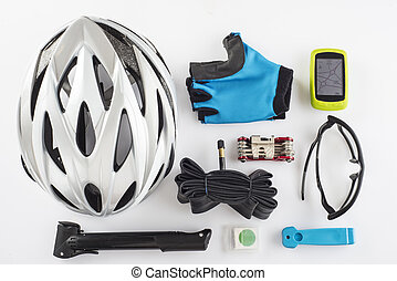Items replacements and tools for a safe cycling
