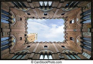 Siena - Palazzo Pubblico e Torre del Mangia