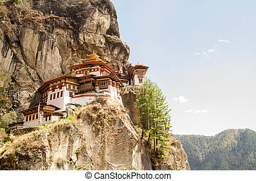 Kingdom of Bhutan - Tiger's Nest Monastery in Paro, Bhutan