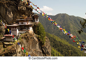 Kingdom of Bhutan - Tigers Nest Monastery in Paro, Bhutan